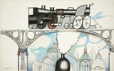 Saul Steinberg, 'Railway', 1951