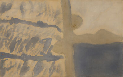 Helen Frankenthaler, 'River', 1953