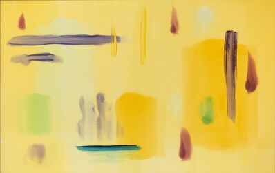 Milly Ristvedt, 'Sizzle Yellow ', 1988