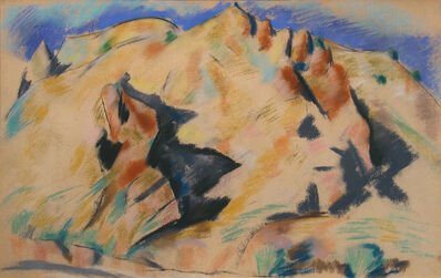 Marsden Hartley, 'New Mexico Landscape', 1918-1919