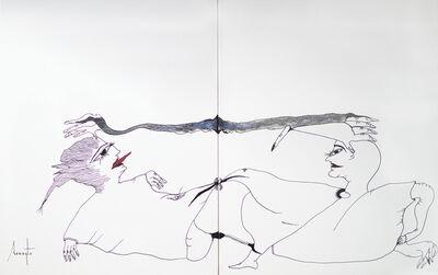 Antonio Beneyto, 'Personajes Postistas 06 & 07', 2013