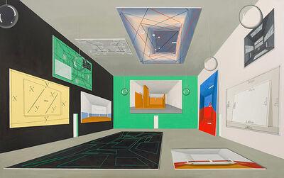 Thomas Huber (b.1955), 'Halle Massgaben II', 2013