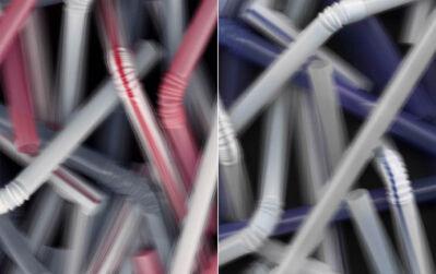 Vadim Fishkin, 'Molecule (straw) II', 2003