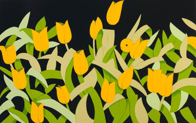 Alex Katz, 'Yellow Tulips', 2014