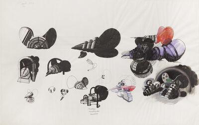 Michael Sandle, 'Sanophage - Sanophagidae - Drosophilid', 1970
