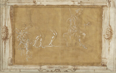 Filippino Lippi, 'Various Figure Studies', ca. 1493/1495