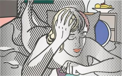 Roy Lichtenstein, 'Thinking Nude (C. 289)', 1974