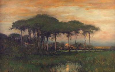 Dennis Sheehan, 'Cypress at Sunset', ca. 2000