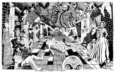 Le Gun, 'The Rake and The Harlot Meet at Bedlam', 2014