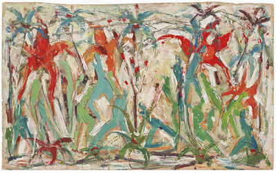 Roger Kemp, 'Untitled (Figures and Flowers)', 1935-1940