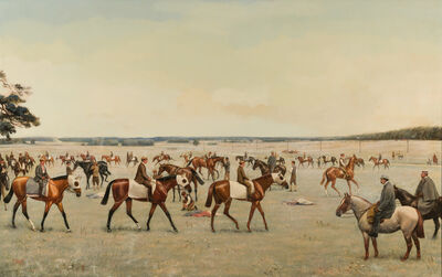 Godfrey Douglas Giles, 'A Bedford Cottage Trial', 1893