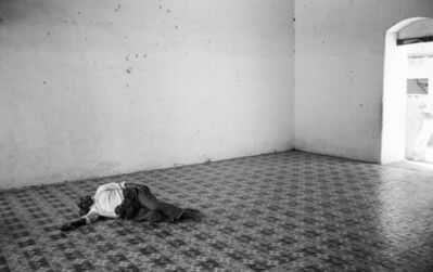 Ian Hoskin, 'Man Resting in Temple, Myanmar ', ca. 1985