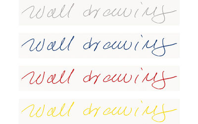 Sol LeWitt, 'Wall Drawing, from portfolio: Forty Are Better Than One', 1993/2009