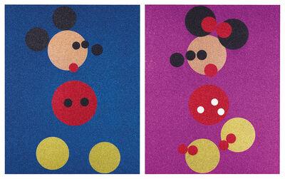 Damien Hirst, 'Mickey & Minnie (2 Works)', 2016
