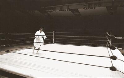 Michael Gaffney, ' Muhammad Ali, Shadowboxing (Madison Square Garden, NYC)', ca. 1977