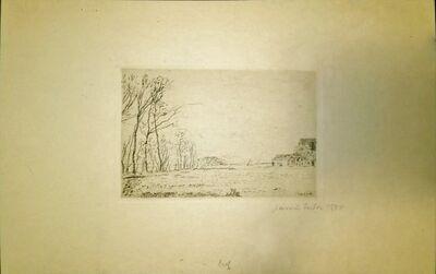 James Ensor, 'Lisière du Petit Bois, Ostende', 1888