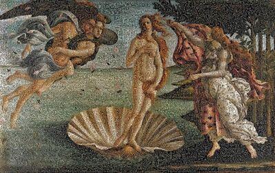 Andrea Morucchio, '(GVA) Puzzling - Revisiting Sandro Botticelli's La Nascita di Venere', 2018