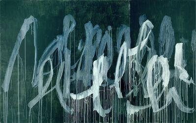 Cy Twombly, 'Note II', 2005-2007