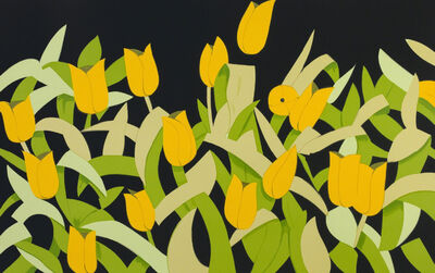 Alex Katz, 'Yellow Tulips', 2014