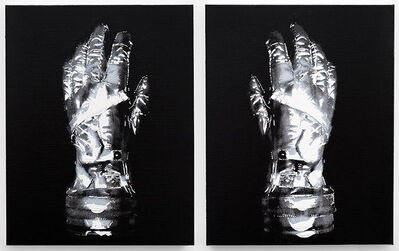 Michael Kagan, 'Mercury Gloves, set of two prints', 2019