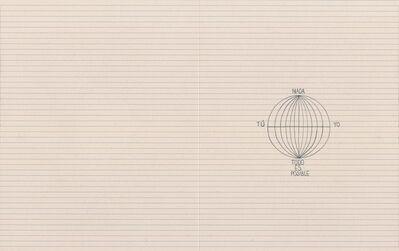 Catalina Jaramillo, 'Construya un mundo coherente a partir de Nada, sabiendo que: Yo = Tú y que Todo es Posible. Haga un dibujo.', 2016