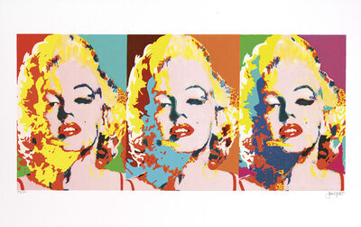 James Gill, 'Three Faces of Marilyn', 2014