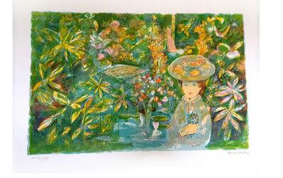 "Emilio Grau Sala, 'Original Lithograph ""Garden"" by Emilio Grau Sala', Circa 1960"