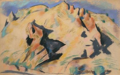 Marsden Hartley, 'New Mexico Landscape'