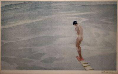 William Russell Flint, 'Springboard', 1939