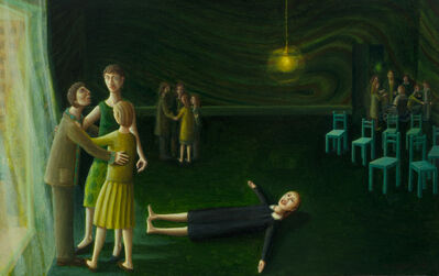 Helen Flockhart, 'Green Room', 2017