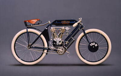 Peter Maier, '1908 Indian Racer', 2005