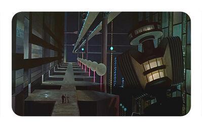 Andrea Canepa, 'Arquitecturas del futuro pasado', 2015