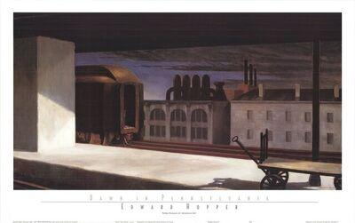 Edward Hopper, 'Dawn in Pennsylvania', 1996