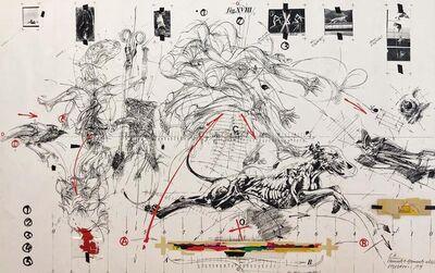 Vladimir Velickovic, 'Elements of Movement', 1974