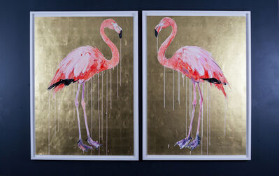 Dave White, 'Flamingo I & II', 2019