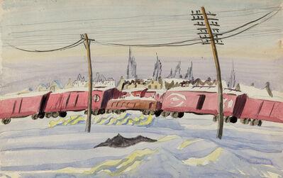 Charles Ephraim Burchfield, '(Untitled) The Freight Train', ca. 1917-1920
