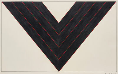 Kenneth Noland, 'American Black', 1987