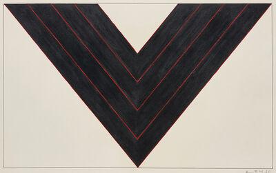 Kenneth Noland, 'American Black', 1987
