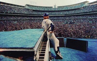 Terry O'Neill, 'Elton John - Dodger Stadium', 1975