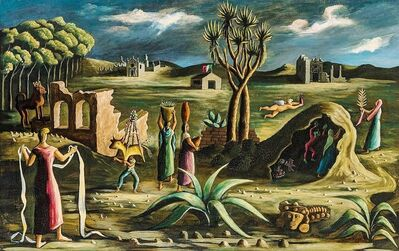 Julio De Diego, 'Mexican Journey', 1942