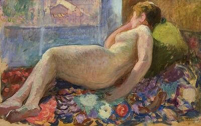 Henri Lebasque, 'Nu sur un divan', ca. 1930