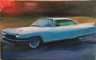 Kobi Assaf, 'Blue Car', 2014