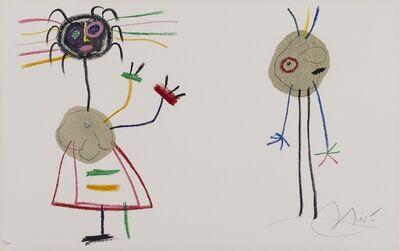Joan Miró, 'L'Enfance d'Ubu (Mourlot 1020)', 1975