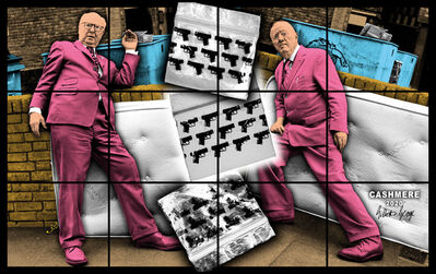 Gilbert and George, 'CASHMERE', 2020