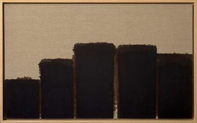 Yun Hyong-keun, 'Burnt Umber - Ultramarine ', 1991