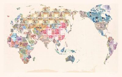 Justine Smith, 'Money Map of the World'