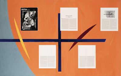 David Diao, 'Plus', 1991