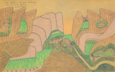 Joseph Yoakum, 'Mt Issoire in Avergne Mtn Range near Clermont France'