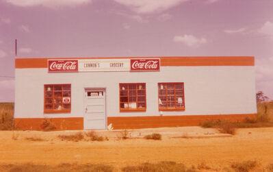 William Christenberry, 'Alabama, Garage with Coca-Cola Signs', 1970s