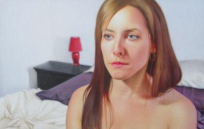 Jessie Babin, 'Self Portrait with Red Lamp', 2018